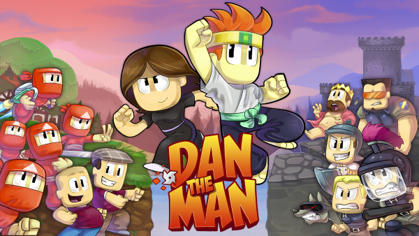dan the man android game presentation